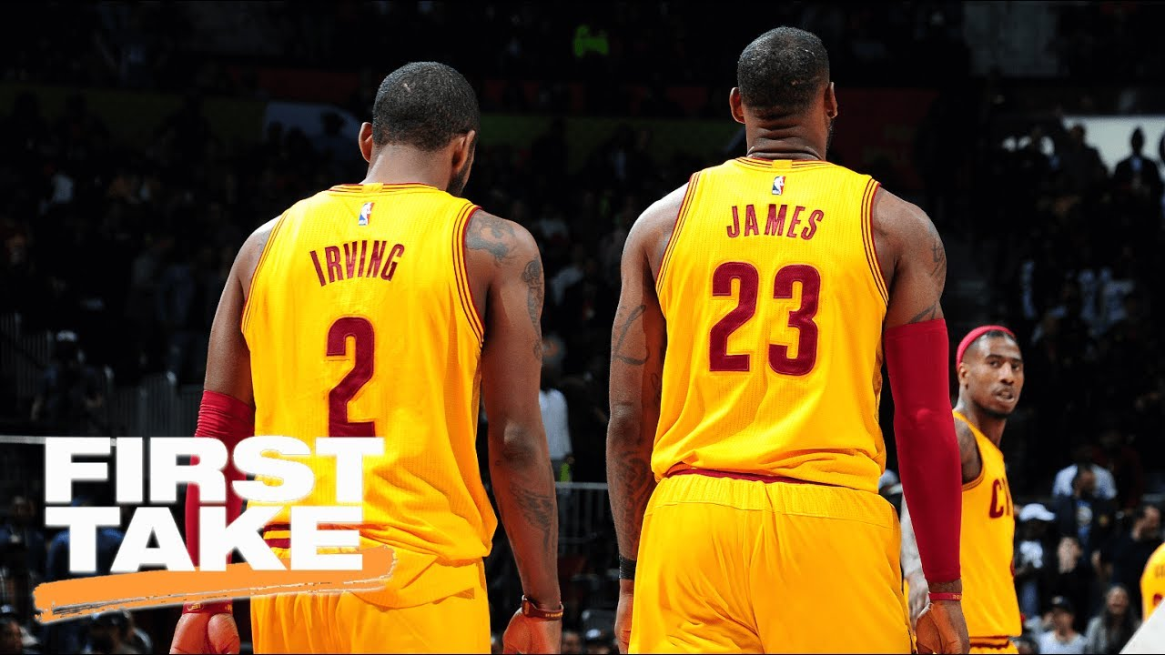 First Take Reacts To Stephen A.'s Report On LeBron Wanting To Beat Kyrie's 'Ass' | First Take | ESPN