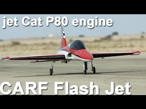CARF FLASH RC Jet with jet Cat P80 engine - Michigan Jets 2011