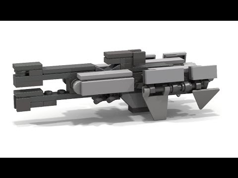 HOW TO BUILD a Lego HALO MICRO Frigate v2