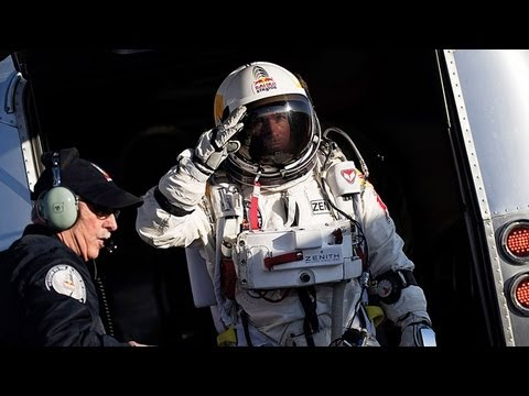 Felix Baumgartner Skydives From Space, Proves Red Bull May Hinder Human Survival Instinct