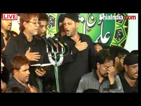8th Muharram Matam Bargah Hzt Abbas (a.s) 1436-2014-15