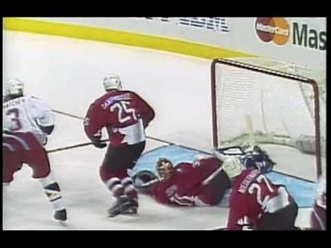 96 World Cup of Hockey Final, USA-Canada Gm. 1