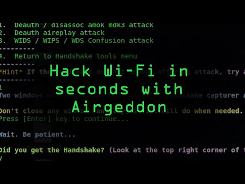 Hacking Wi-Fi in Seconds with Airgeddon & Parrot Security OS