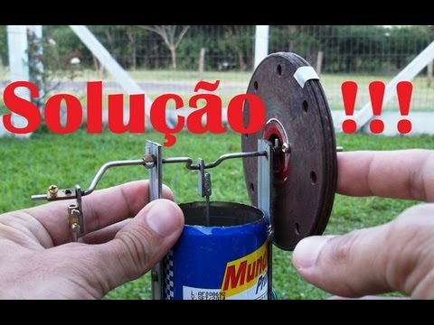 Porque um motor Stirling Não funciona!!! - Why not a Stirling engine works!!!