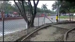 NEW ACCIDENTE DE KART EN MEDELLIN
