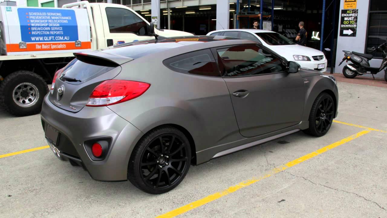 hyundai veloster rolling 19 inch diesel zeus wheels youtube. Black Bedroom Furniture Sets. Home Design Ideas