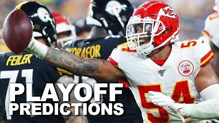 2019 NFL Playoff Predictions | Good Morning Football