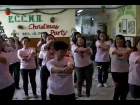 Eccmh Xmas Party 2011 - Staff Nurses & Midwives video