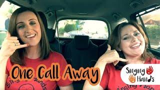 Makaton Carpool Karaoke - One Call Away - Singing Hands