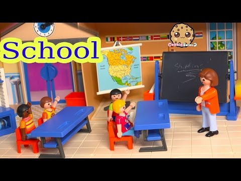 Playmobil Back To School Classroom Playset With Teacher & Shopkins Season 3 Blind Bag Unboxing