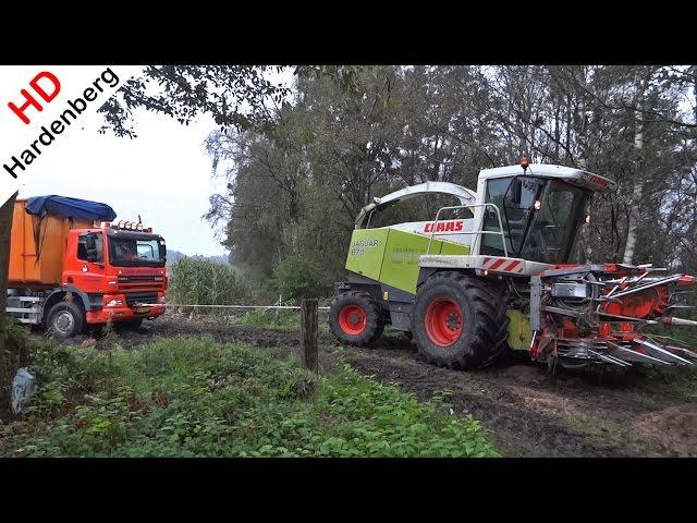 Mais | 2014 | Modderen | Stuck in the mud | Ginaf | Claas Jaguar 870 | Pleizier & Timmer | NL.