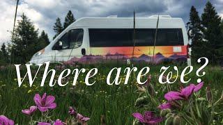 Eastern Montana, Goodbye Mountains Hello Plains. Full Time Van Life!