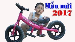 Bé Dương đi xe đạp mẫu mới 2017 - Kênh Em Bé