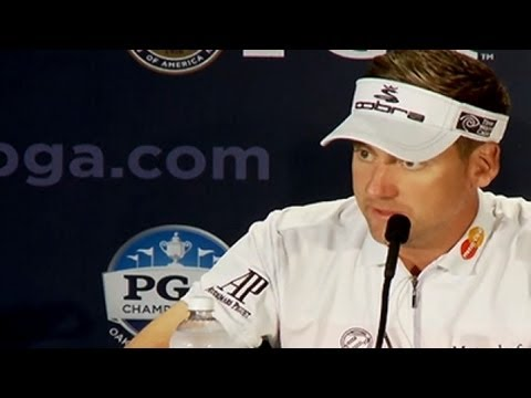 Ian Poulter talks Oak Hill and Rory McIlroy before 2013 PGA Championship