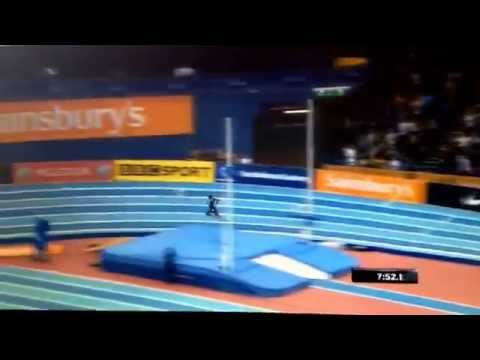 Mo Farah Breaks Men's 2 mile World Record- Birmingham Indoor Grand Prix- 21/02/15