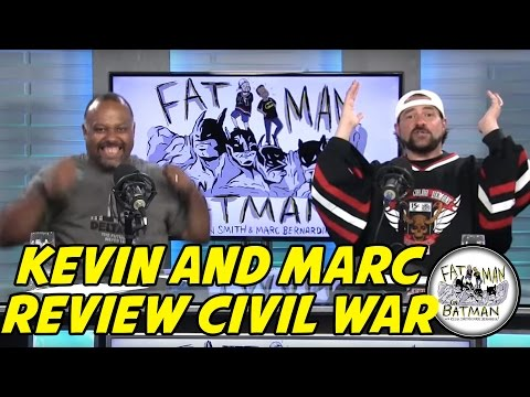 KEVIN AND MARC SEE CIVIL WAR  - FAT MAN ON BATMAN 037