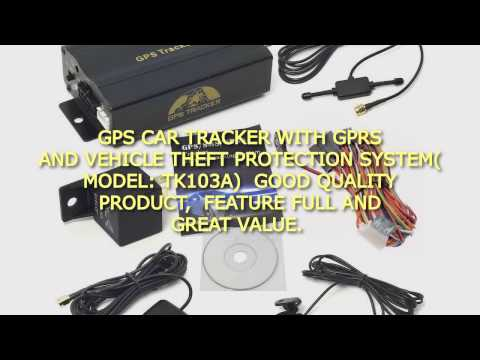 GPS Car Tracker With GPRS And Vehicle Theft Protection System(Model:TK103A)