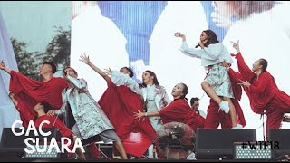 Gac Gamaliel Audrey Cantika 1st Single Suara Live At We The Fest 2018