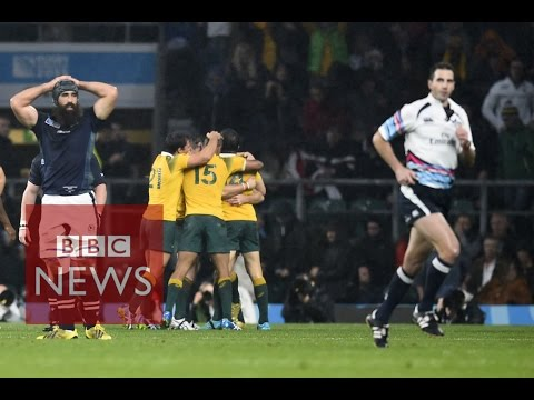 Scotland - Australia: Craig Joubert 'got it wrong' - BBC News