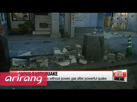 ARIRANG NEWS BREAK 10:00 6.5 magnitude quake kills 9, injures 760+ in southern Japan