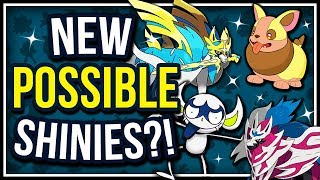 POSSIBLE SHINIES FOR YAMPER, IMPIDIMP, & THE LEGENDS OF POKÉMON SWORD & SHIELD! ✨