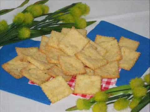 Gluten free recipes - Chickees Crackers a delicious yet simple recipe from Yummee Yummee!