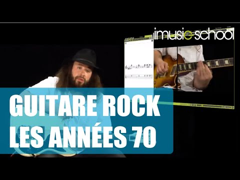 Cours de Guitare Rock - les années 70