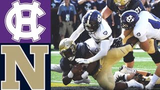 Holy Cross vs Navy Highlights | NCAAF Week 1 | College Football Highlights