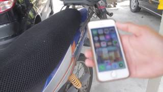 Motorcycle tracking devices with auto switch off (vehicle gps tracker)