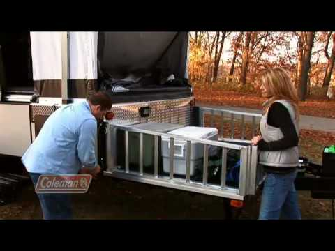 Buying a coleman camping trailer popup camper youtube for Popup house youtube