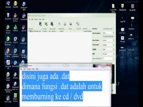 Cara Convert Atau Ubah Format Video mp4 3gp mkv avi fly dll Dengan