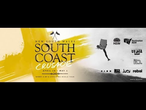 2013 GoPro IBA New South Wales South Coast Crusade - Final Day Highlights
