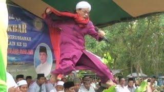 Ceramah agama Ust Cepot di Pondok Pesantren Subulus Salam, Tebing Suluh, Lempuing, OKI