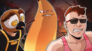 The Giant Banana-Man! - Rainbow Six Siege Outbreak Funny Moments w/ Vanoss and Legiqn