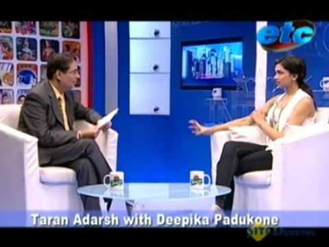 Taran Adarsh with Deepika Padukone Video