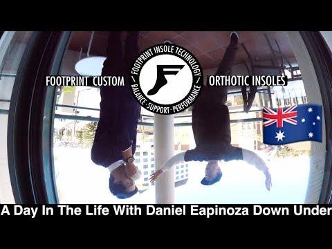 Daniel Espinoza's Day Down Undah With Paul Hart