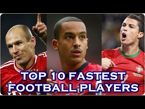 Top 10 Fastest Soccer Players 2016