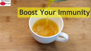 Immunity Boosting Drink - How To Boost Your Immunity With Indian Ayurvedic Drink | Skinny Recipes