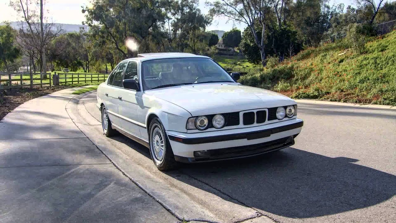 Bmw 5 Series E34 Tuning Projects Youtube