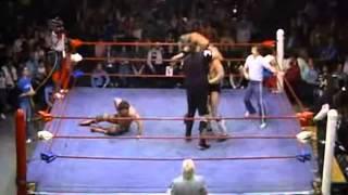 Rick Rude & One Man Gang vs. Bruiser Brody & Missing Link
