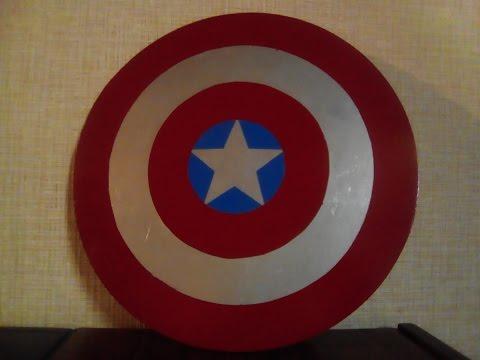 Как сделать своими руками щит капитана америки7