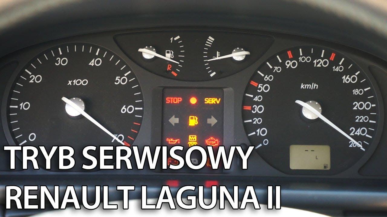 Ukryte Menu Zegar 243 W W Renault Laguna Ii Tryb Serwisowy