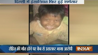 In a Fatal Road Accident Cab Driver Mows Down Kid in Delhi