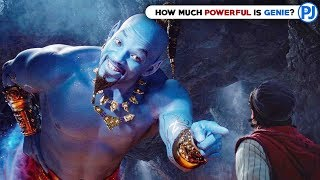 How powerful is Genie - Aladdin Explained in Hindi - PJ Explained