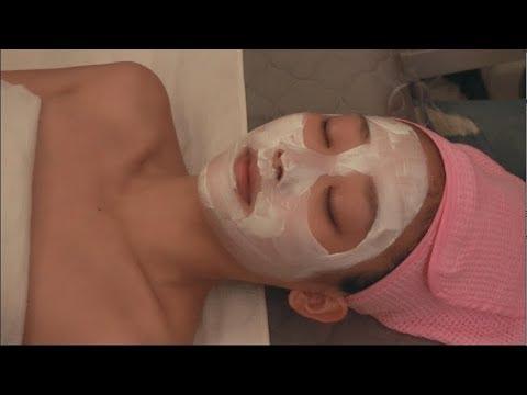 실제 스킨케어샵 체험ASMR l 얼굴마사지ㅣKorean SkinCare Face Massage ASMR