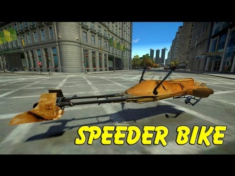 Star Wars Speeder Bike 74-Z V 2.0 - NRG MOD for GTA IV