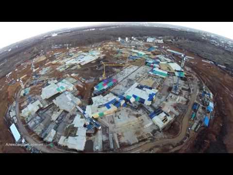 #Темп строительства стадиона в Самаре за два года #Samara