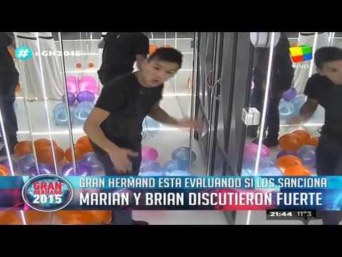 Completo, el video con la pelea de Brian y Marian