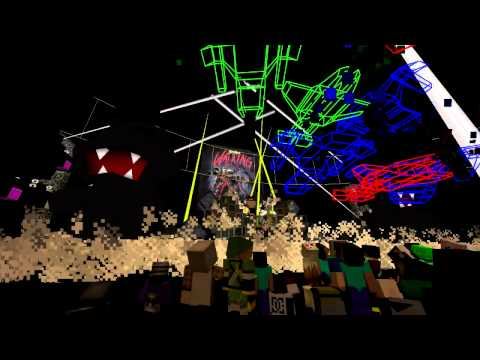 MonsterCharity 2013: Stephen Walking LIVE ON MINECRAFT!