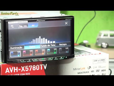 DVD Pioneer AVH-X5780TV - TV Digital AppRadio Live 2DIN - Análise e teste / Lançamento 2015